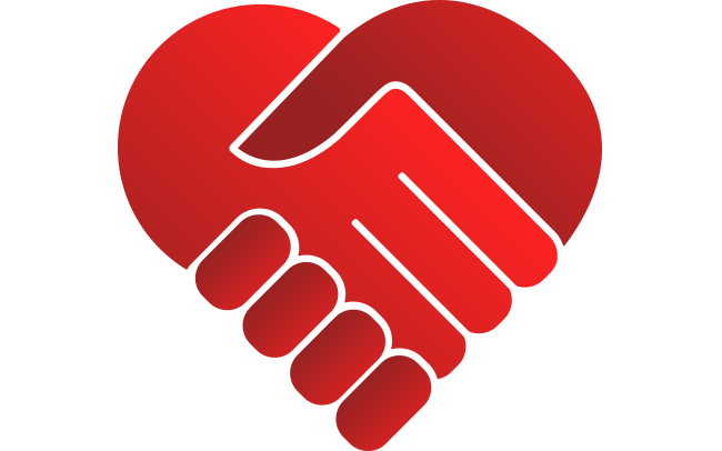 Heart-Handshake: We Love To Build