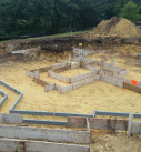 forms ready for concrete