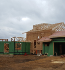 traditional style home framing