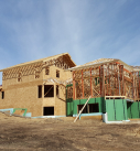framing traditional style home