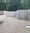 foundation walls for new home
