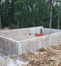concrete walls for new home