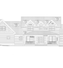 cape cod style home front elevation