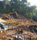 lake mendota excavation for building a new home