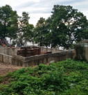 lakefront home foundation walls