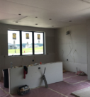 kitchen drywall