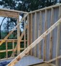 Timber style framing