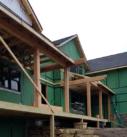 Timber frame patio