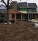 Timber porch