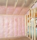 Timber frame insulation