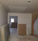 Timber frame drywall