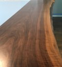 live edge wood counter