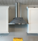 stainless steel hood vent