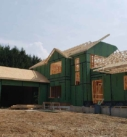 Sheathing a new home
