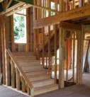 interior framing of stairs