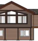 Rendering of a home addition
