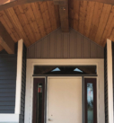 exterior front porch and door