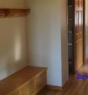 before photo of hallway