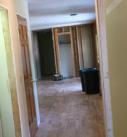 demo of hallway viewing the front door