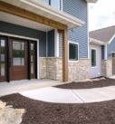 front entry of a home
