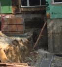 exterior foundation prep work