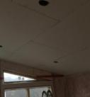 start of drywall