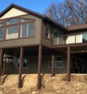exterior siding brown vertical