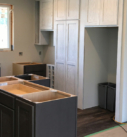 installation of cabinets