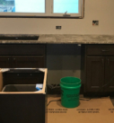 kitchen counter install