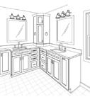Bathroom Remodel Drawing